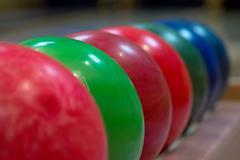 Stock Photo of Bowling balls