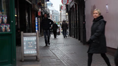London Soho Alleyway (Day) - stock footage