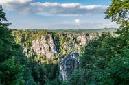 Elbe Sandstone Mountains Stock Photos