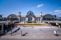 Dresden Main Station Stock Photos