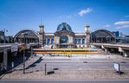 Stock Photo of Dresden Main Station