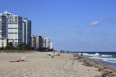 Pohjois-Fort Lauderdale beach Kuvituskuvat