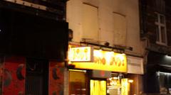 Madam Jojos at Night (London) Stock Footage