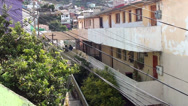 Stock Video Footage of 0726  Characteristic streets of the hills of Valparaiso