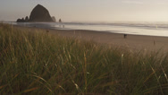Stock Video Footage of Cannon Beach Oregon