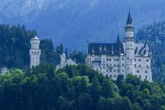 Neuschwansteinin linna Baijerin Alpeilla, Saksa Kuvituskuvat