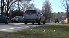 Spring Highway Traffic 02 Stock Footage