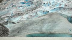 Alaska - Davidson Glacier 10 Stock Footage