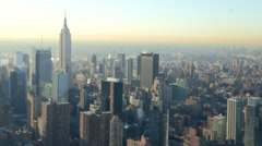 New York City Empire State Building Aerial-PhotoJPEG Stock Stock Footage