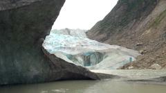 Alaska - Davidson Glacier 3 - stock footage