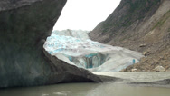 Stock Video Footage of Alaska - Davidson Glacier 3