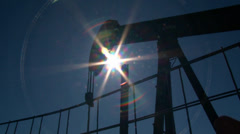 TX Oil Well 2 Stock Footage
