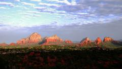 Sedona Arizona Sunrise Time-lapse Stock Footage