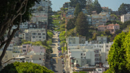Stock Video Footage of Lombard Street