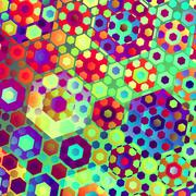 Abstract Sweets Stock Illustration