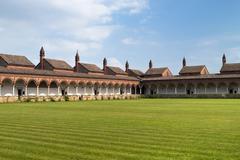 Carterhouse of Pavia, cell complex Stock Photos