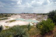 Stock Photo of industrial quarry