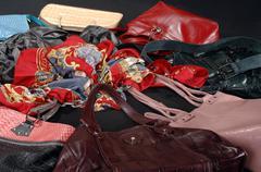 Ladies accessories Stock Photos