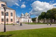 Stock Photo of saint sophia cathedral at novgorod kremlin