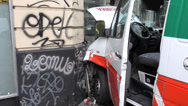 Stock Video Footage of Ambulance Crash Accident