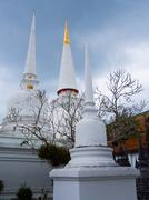 Wat phra mahathat woramahawihan Stock Photos