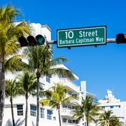 Miami beach, Floride, usa Kuvituskuvat