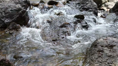 Sarika Waterfall in Thailand Stock Footage