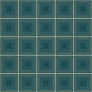 Seamless illusion geometrics square pattern Stock Illustration