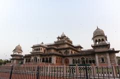 Royal albert hall jaipur india Stock Photos