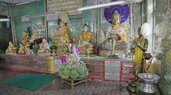 Popa Taungkalat monastery Stock Footage