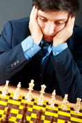 FIDE Grand Master Vugar Gashimov (World Rank - 12) from Azerbaij - stock photo