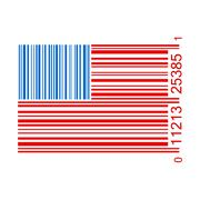 Stock Illustration of united states bar code illustration