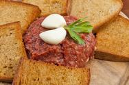 Stock Photo of steak tartar
