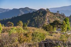 View point , doi angkhang , chiangmai , thailand Stock Photos