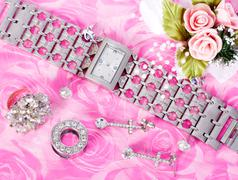Jewelry and watches Stock Photos