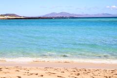 Jandia beach, fuerteventura Stock Photos