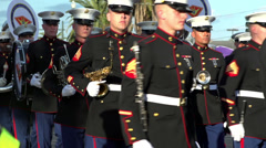 2D Marine Aircraft Wing Band in Endymion Stock Footage