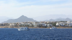 Coast Sharm el Sheikh Stock Footage