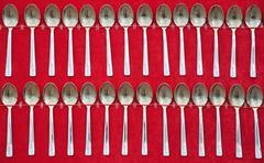 teaspoons. - stock photo