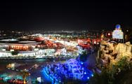 Stock Photo of sharm el sheikh, egypt -  december 1: the view on night life in naama bay on