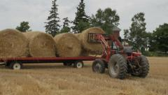 FARM TRACTOR COMPILATION - stock footage
