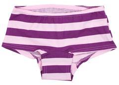 Women's panties isolated on white Stock Photos