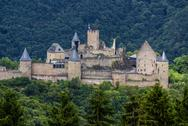 Stock Photo of bourscheid castle in luxembourg