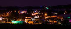 Stock Photo of night view of jefferson, pennsylvania.