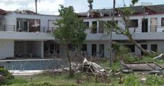 4K / HD Hurricane Devastated Resort Typhoon Haiyan Stock Footage