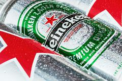 heineken dutch brewing company - stock photo
