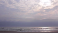 Stock Video Footage of St Augustine Beach shore