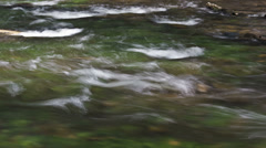 Fast flowing river rapids - 4K Ultra HD time lapsed - stock footage