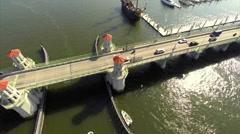 Bridge of Lions St Augustine Florida Stock Footage