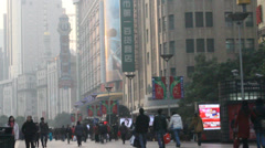 East Nanjing during the day Stock Footage